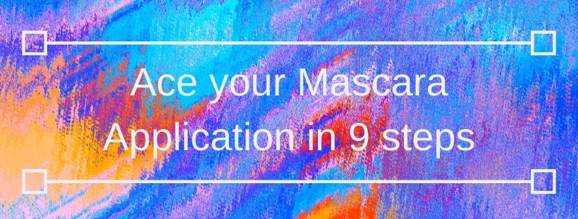 mascara, makeup, mascara application