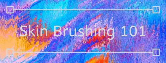 skin brushing, exfoliation, softer skin