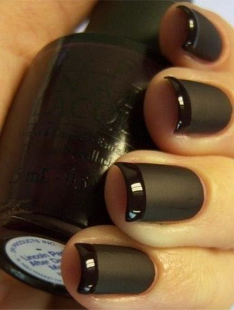 Matte Nails   are the polar opposite of the super shiny nails we have been used to wearing.   Take your manicure to a new dimension with a fashionable matte finish.   The best part... we can turn any colour into a matte finish.  Additional $5.00 with any nail service