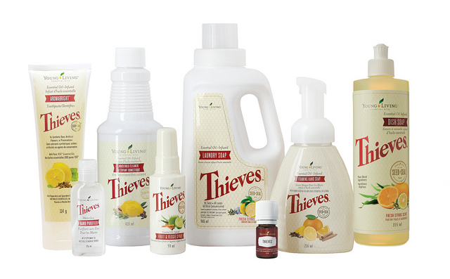 Thieves Chemical Free Cleaning Products