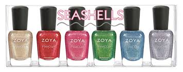 Zoya Seashells Collection