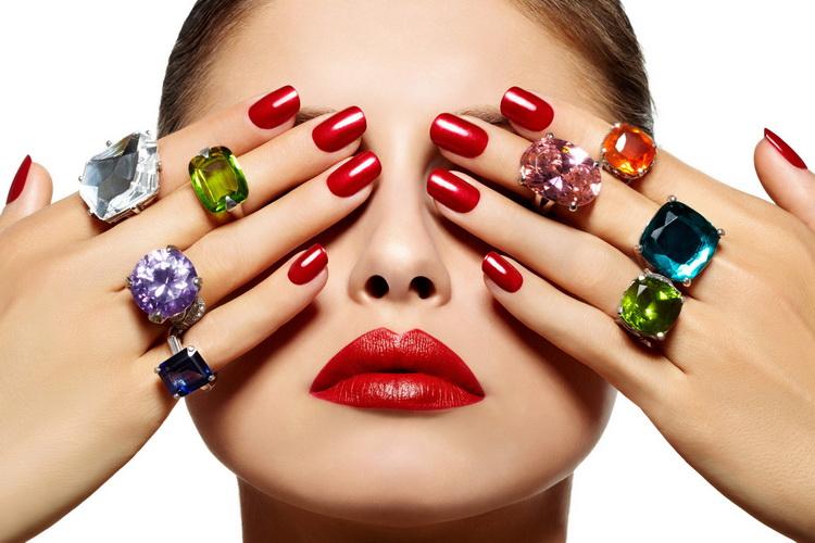 acrylic nails, nails