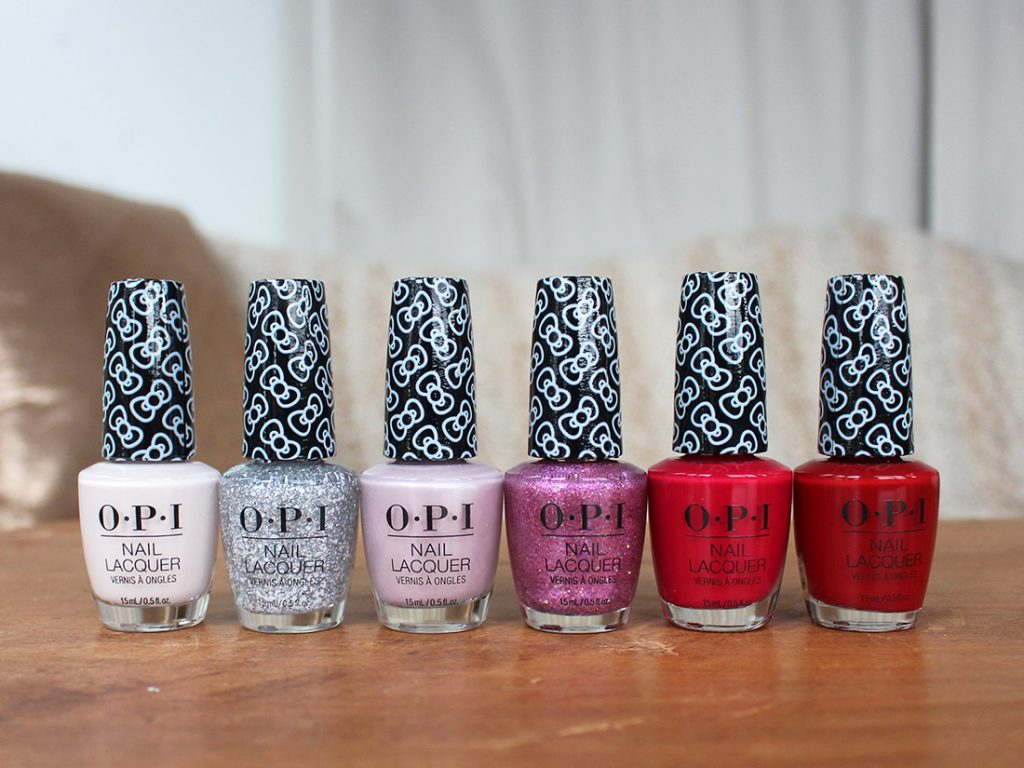 opi holiday nails, holiday nails, xmas nails