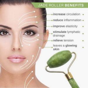 jade roller, skin care,
